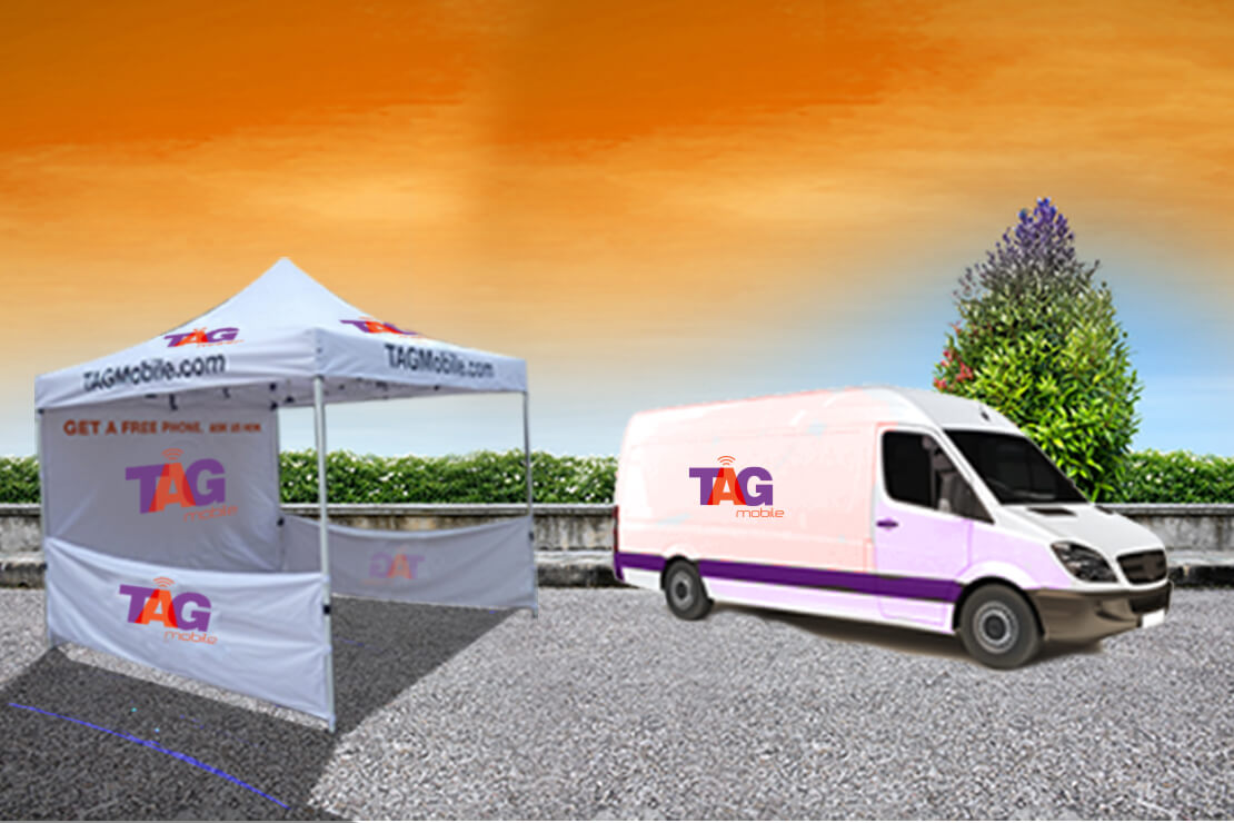TAG Mobile Event Tent