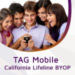Switch to TAG Mobile California Lifeline BYOP and Get FREE 3GB LTE Data