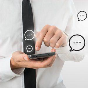Smartphone Texting