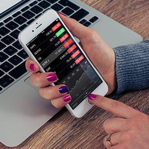 sales through smartphone