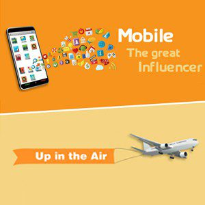 Mobile the Great Influencer – Infographic