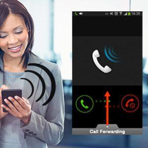 Mobile call forwarding