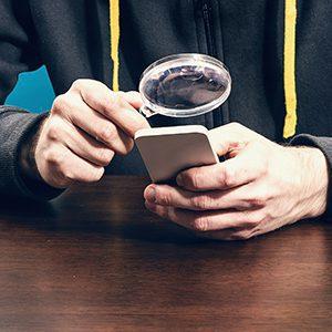 Smartphone finding