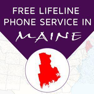 Maine Free lifeline service