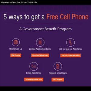 5 ways to get free phone